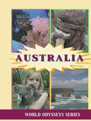 cover image of World Odysseys, Australia