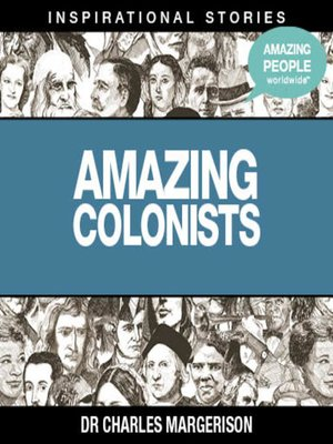 cover image of Amazing Colonists - Volume 1