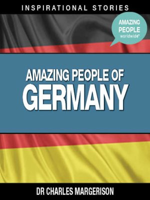cover image of Amazing People of Germany - Volume 1