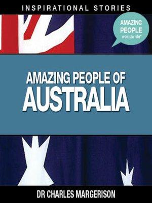 cover image of Amazing People of Australia - Volume 1
