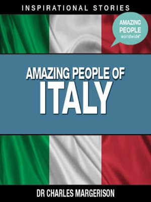 cover image of Amazing People of Italy - Volume 1