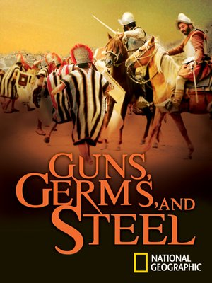 cover image of Guns, Germs & Steel, Out of Eden