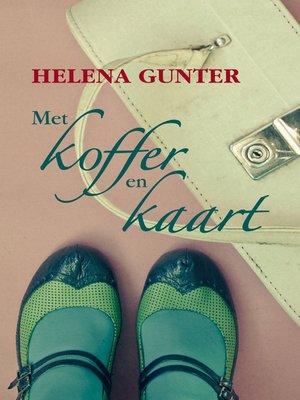 cover image of Met koffer en kaart