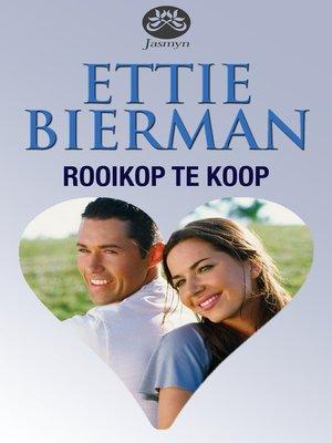 cover image of Rooikop te koop