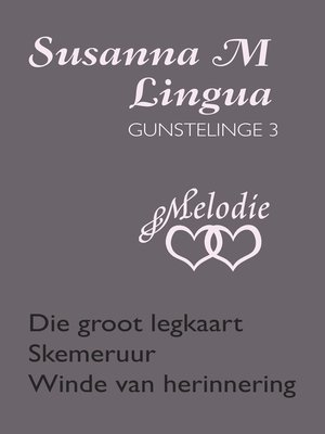 cover image of Susanna M Lingua Gunstelinge 3