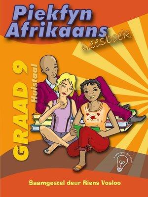 cover image of Piekfyn Afrikaans Leesboek Graad 9 Huistaal