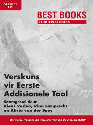 cover image of Best Books Studiewerkgids