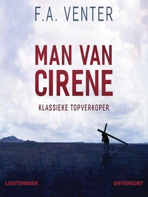 cover image of Man van Cirene