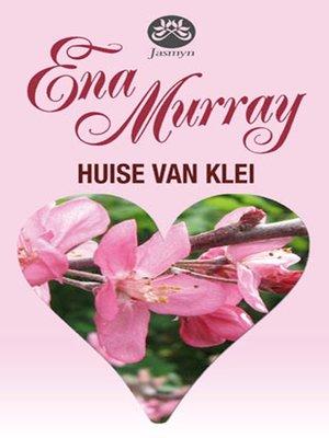 cover image of Huise van klei