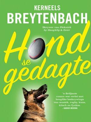 cover image of Hond se gedagte