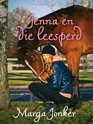 cover image of Jenna en die leesperd