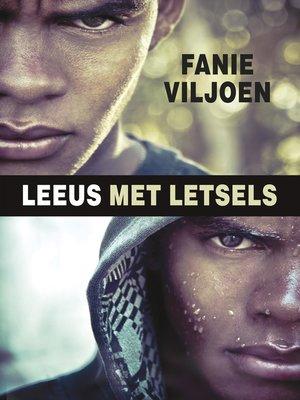 cover image of Leeus met letsels