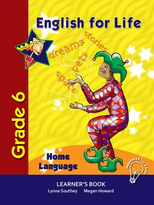 cover image of English for Life Learner's Book Grade 6 Home Language
