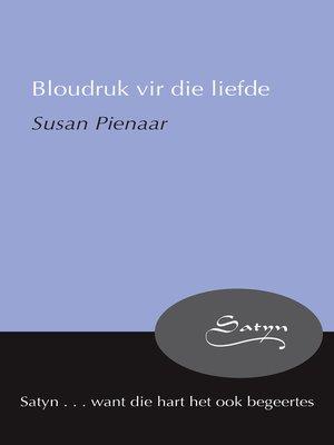 cover image of Bloudruk vir die liefde