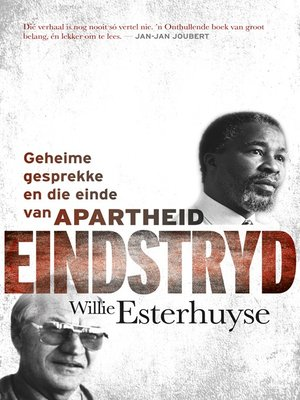 cover image of Eindstryd