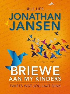 cover image of Briewe aan my kinders
