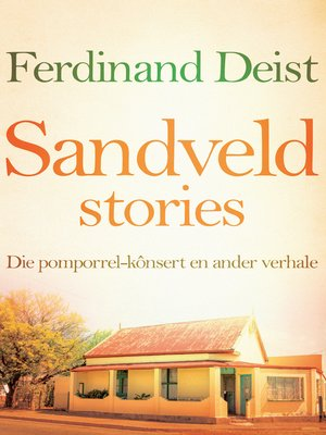 cover image of Sandveldstories