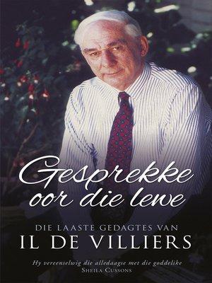cover image of Gesprekke oor die lewe