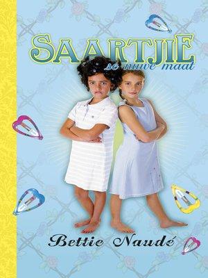 cover image of Saartjie se nuwe maat (#5)
