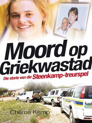 cover image of Moord op Griekwastad