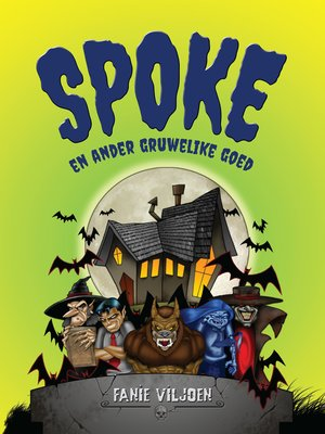 cover image of Spoke en ander gruwelike goed
