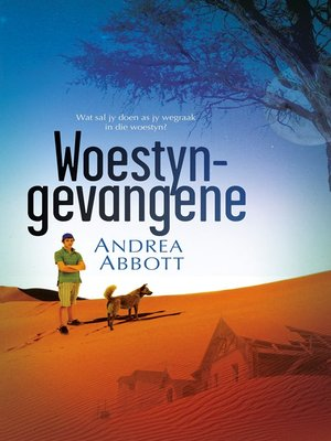 cover image of Woestyngevangene