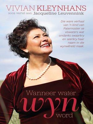 cover image of Wanneer water wyn word