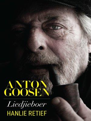 cover image of Anton Goosen
