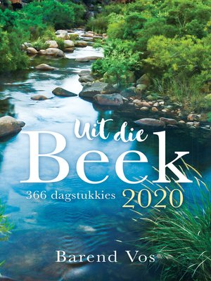 cover image of Uit die beek 2020