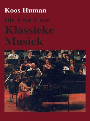 cover image of Die a tot Z van Klassieke Musiek