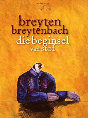 cover image of Die beginsel van stof