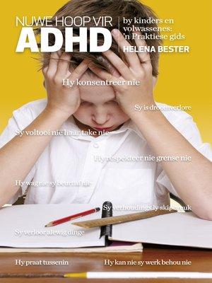 cover image of Nuwe hoop vir ADHD by kinders en volwassenes