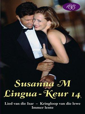 cover image of Susanna M Lingua-keur 14