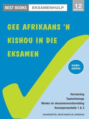 cover image of Best Books Eksamenhulp