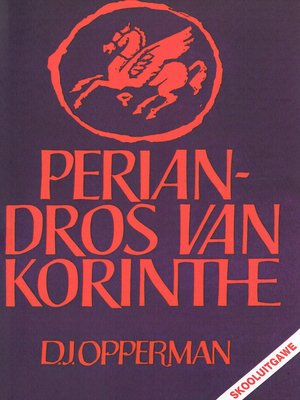 cover image of Periandros van Korinthe
