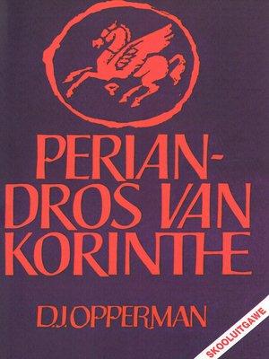 cover image of Periandros van Korinthe