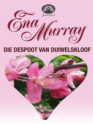 cover image of Die despoot van Duiwelskloof
