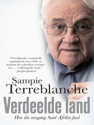 cover image of Verdeelde land