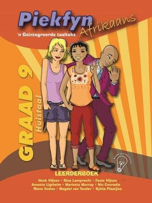 cover image of Piekfyn Afrikaans Leerderboek Graad 9 Huistaal