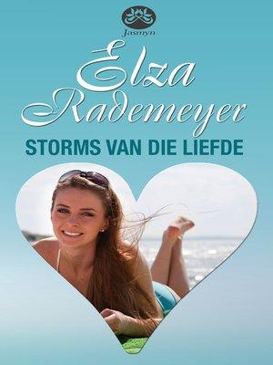 cover image of Storms van die liefde