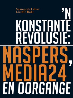 cover image of 'n Konstante Revolusie