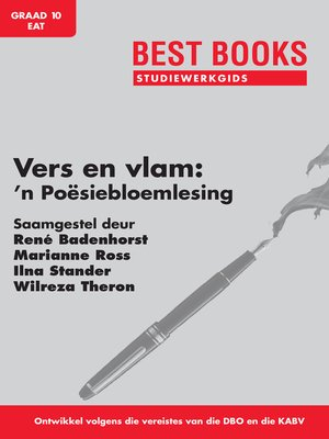 cover image of Vers en Vlam