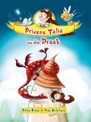 cover image of Prinses Talia en die draak