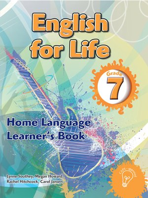 cover image of English for Life Grade 7 Learner's Book for Home Language