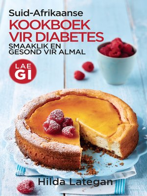 cover image of Suid-Afrikaanse kookboek vir diabetes