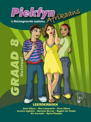 cover image of Piekfyn Afrikaans Leerderboek Graad 8 Huistaal