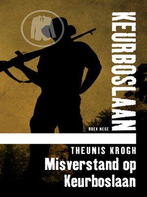 cover image of Misverstand op Keurboslaan #9