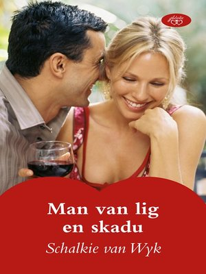 cover image of Man van lig en skadu