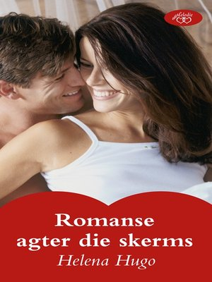 cover image of Romanse agter die skerms