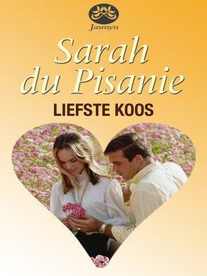 cover image of Liefste Koos